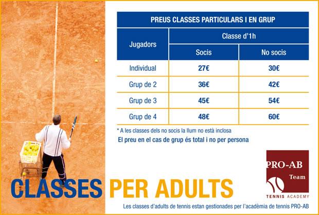 Classes per adults