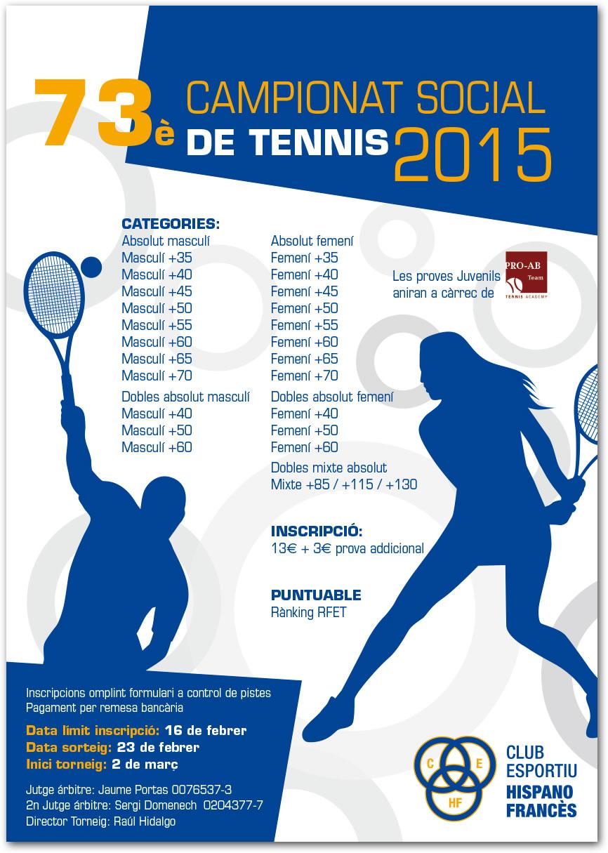 73è Campionat Social de Tennis