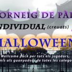 I Torneig individual de Pàdel Halloween