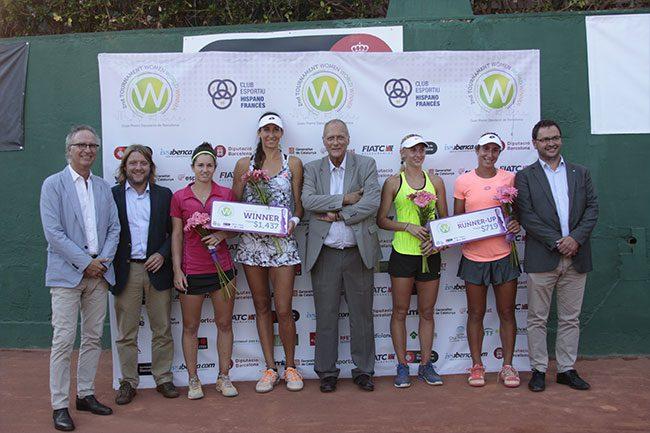 Georgina Garcia, campiona de dobles; Pous progressa a semifinals