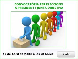 CONVOCATÒRIA PER ELECCIONS A PRESIDENT I JUNTA DIRECTIVA