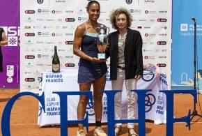 Estrella Cabeza, campiona del 2n Trofeu Internacional Ciutat de Barcelona