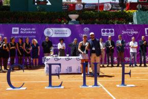 Allie Kiik, campeona del 3r Trofeu Internacional Ciutat de Barcelona de Tenis Femenino