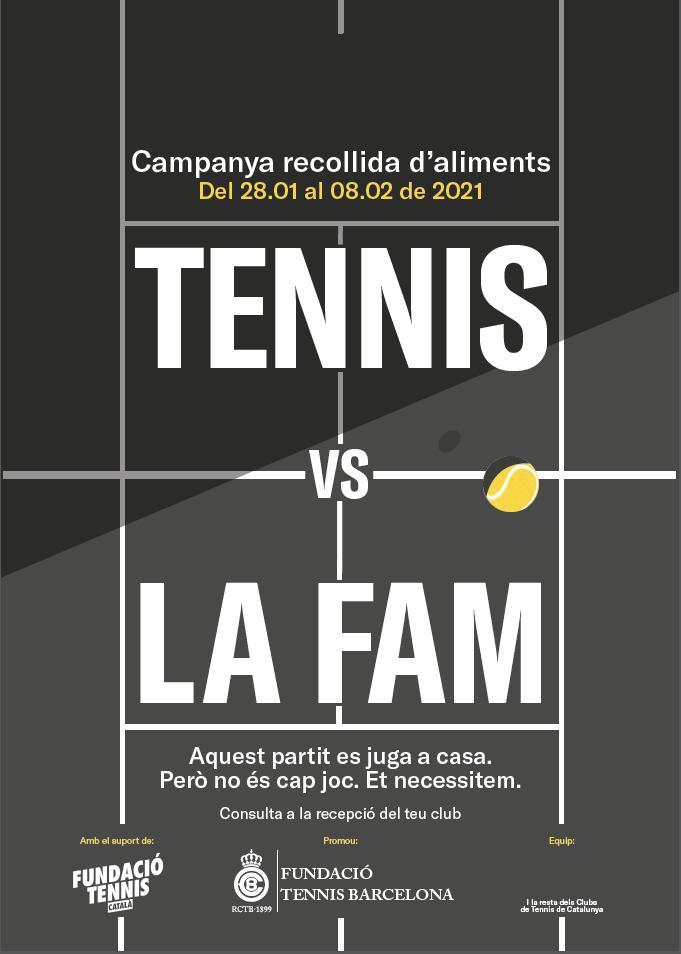 """TENNIS VS LA FAM. El meu gra de sorra"""""""