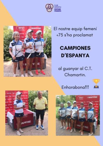 Campiones d'Espanya +75